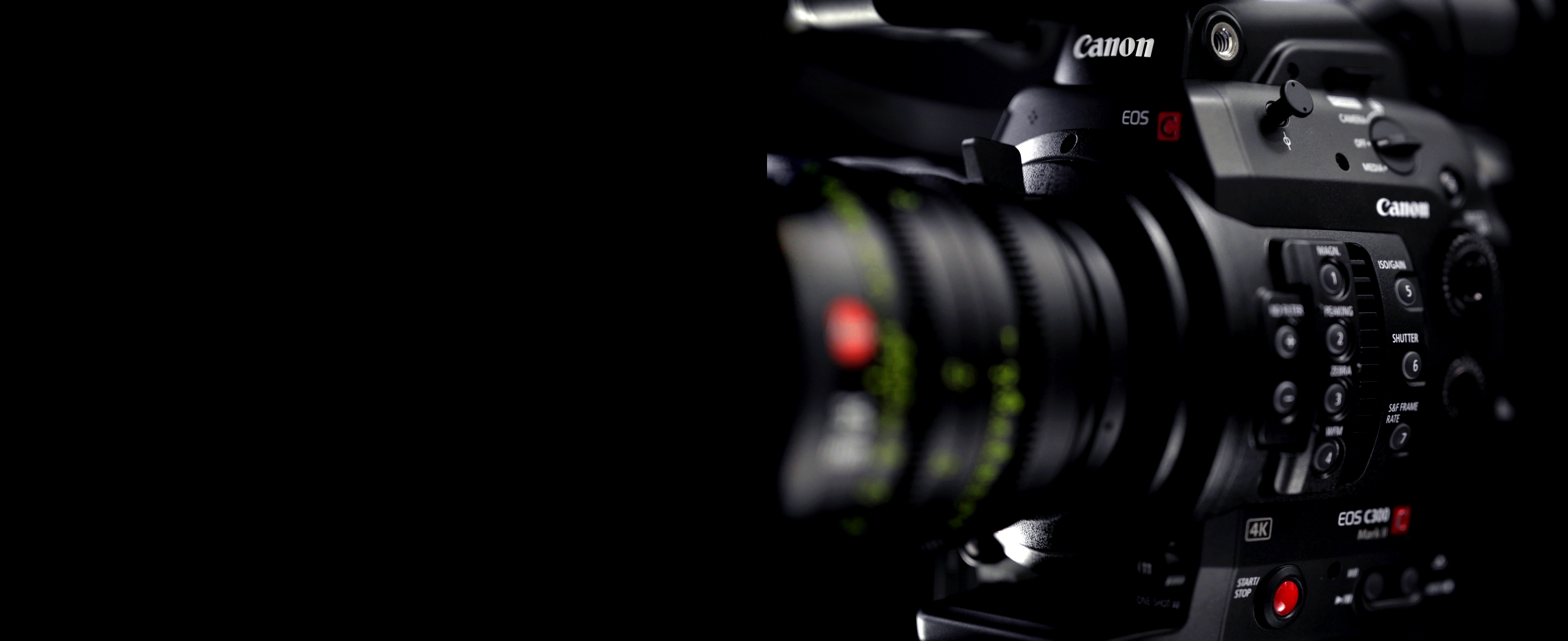 Canon EOS C300 Mk II PL | chater camera