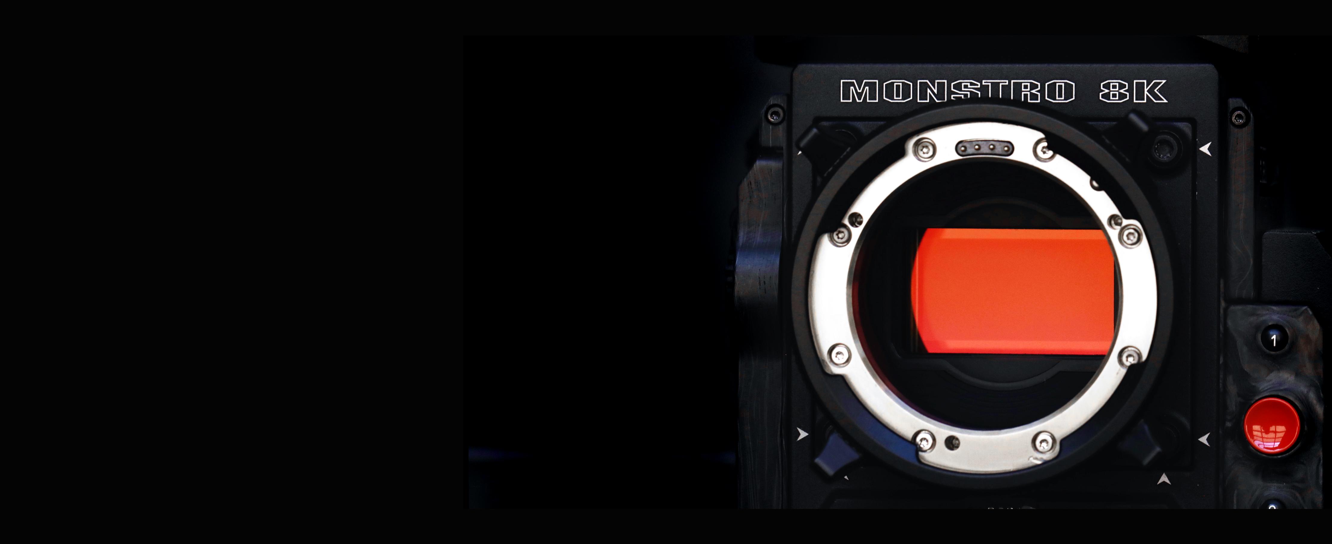 Red Monstro 8k Vv Full Frame Chater Camera